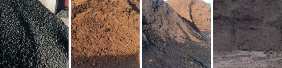 different types of landscape fill