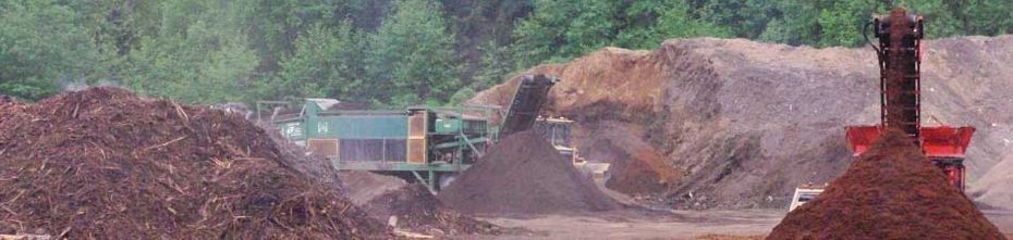 gravel and mulch quarry